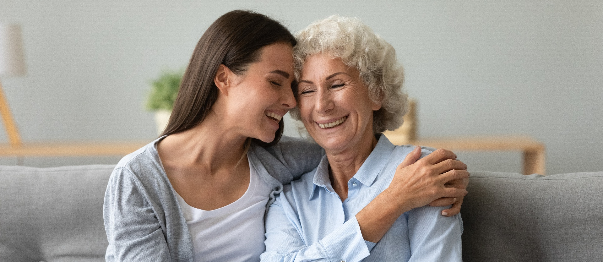 Hospice daughter and mom